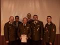 Ehrenurkunde für E-AW Johann Mayrhofer für 70-jährige Mitgliedschaft