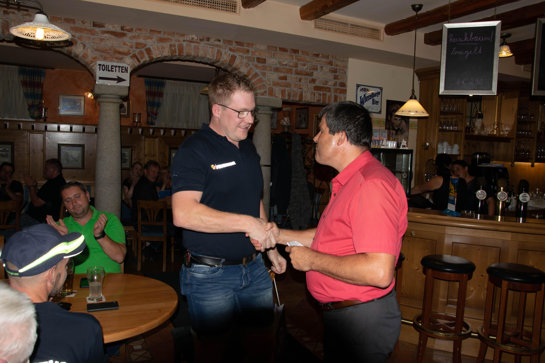 BGM Martin Raab gratuliert zur Wahl