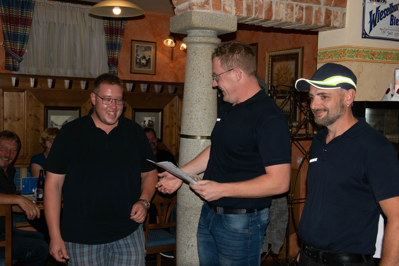 Pelzeder übernimmt die Funktion als LFB-Gruppenkommandant