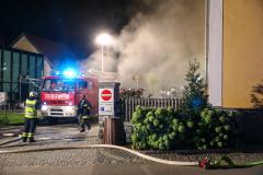 Brand im Seminarhotel Wesenufer